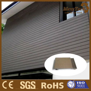 Outdoor Composite Wall Cladding/Exterior WPC Wall Panel/Decorative Wall Siding pictures & photos