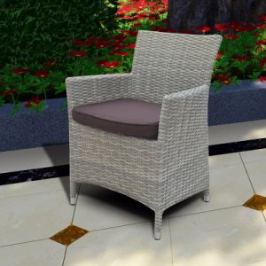 Aluminum Wicker Chair for Dining Set Outdoor Pario Furniture (J3571W) pictures & photos