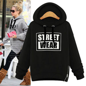 Winter Women Loose Casual Pullover Hooded Fleece pictures & photos
