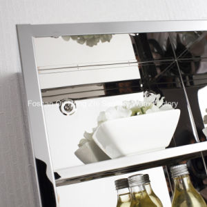 Stainless Steel High Kitchen Storage Uint Cabinet with Five Inside Shelf pictures & photos