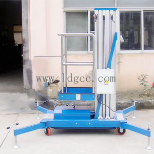 6meters Aluminium Hydraulic Aerial Work Lift Platform (GTWY6-100SA) pictures & photos