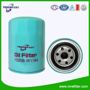 Car Oil Filter for Nissan Engine (15208-W1194) pictures & photos