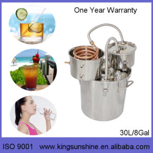 Kingsunshine 10L/3gal Distillation Equipment, Mini Alcohol/Water/Hydrolat Distiller pictures & photos