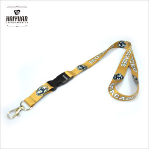 Full Color Printed Lanyards with Detachable Buckle pictures & photos