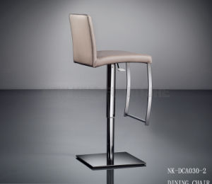 Modern Durable Customized Home White Black Bar High Chair (NK-DCA040-1) pictures & photos