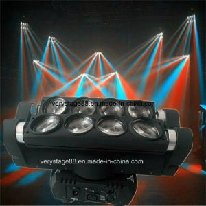 8*10W LED CREE RGBW Spider Beam Moving Head Stage Light pictures & photos