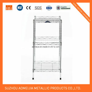 3 Layer Wire Shelf with SGS Approval pictures & photos