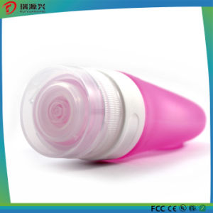 2016 Cosmetic packing bottle with silicone sucker for travelling pictures & photos