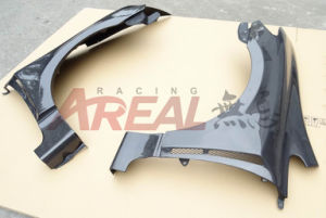 Carbon Fiber Front Wheel Fenders for Honda Civic Fd1 2006-2008 pictures & photos