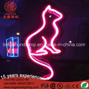 LED New Cat Real Glass Neon Light Sign Home Beer Bar Pub Garage Wall pictures & photos