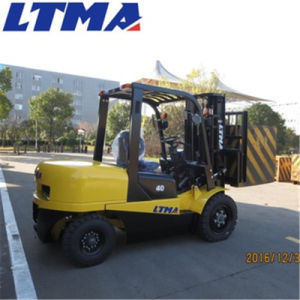 Ltma Manual Forklift 4 Ton Diesel Forklift for Sale pictures & photos