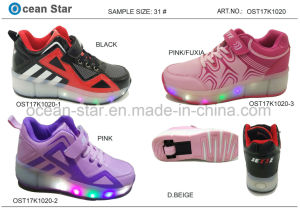New Arrival LED Light Skating Kids Shoes Sport Shoes pictures & photos