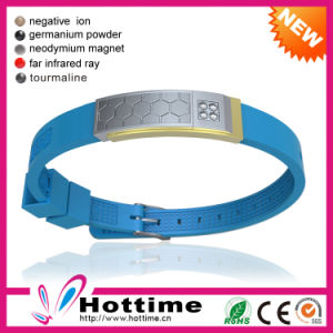 Hottime Factory Wholesale Silicone Bracelet (CP-JS-NW-020) pictures & photos