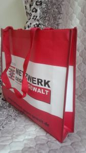 Promotion Laminated Non-Woven Hand Shopping Bag pictures & photos