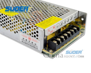 Suoer Factory Price 120W LED Power Supply DC 12V 10A Power Supply (SPD-P120) pictures & photos