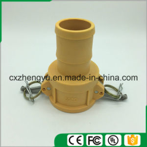 Plastic Camlock Couplings/Quick Couplings (Type-C) , Yellow Color pictures & photos