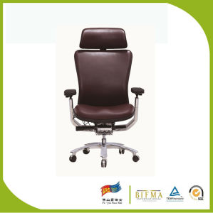 Real Leather Full Leather High End Office Chair for CEO pictures & photos