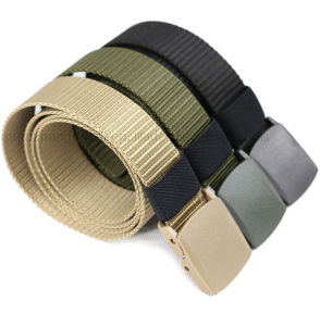 Custom Tactical Fashion Leisure Men Nylon Belt for Prmotion pictures & photos