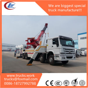 Heavy-Duty 30tons HOWO Tow Wrecker Truck for Sale pictures & photos