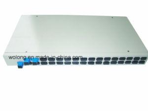 1X2 Rackmount Fiber Optic Splitter Sc PC