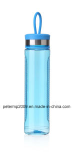470ml Hot Selling Cheap Custom Drinking Bottle Plastic, Red Color Sport Water Bottle pictures & photos