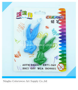 30g 2PCS 3D Plastic Crayons for Students and Kids pictures & photos