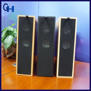 2017 Cheap Newest Promotional Gift Wood Home Bookshelf Wooden Bluetooth Speaker pictures & photos