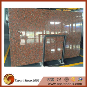 Supply Santiago Red Granite Stone Slab pictures & photos