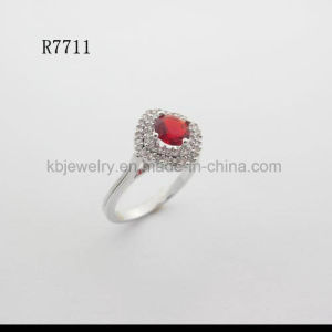 Real 925 Silver jewelry Gemstone Ring (R7711) pictures & photos