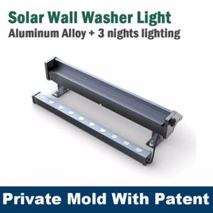 New Design Solar Wall Washer Outdoor Billboard Light for Public Place with Ce FCC pictures & photos