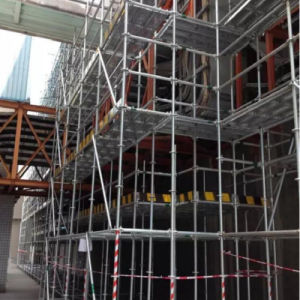 Ringlock Scaffold System ISO Ce SGS Construction Formwork Ring Lock Scaffolding pictures & photos