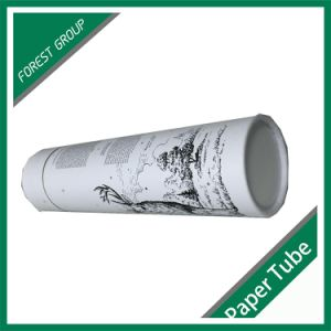 Custom White Printing Cardboard Paper Tube pictures & photos