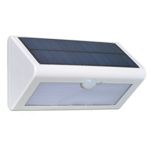 Solar Waterproof Human Body Sensor Intelligent Garden Flood Pack Porch Light Outdoor Lighting LED Wall Lamp pictures & photos
