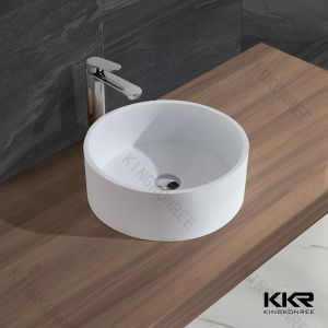 Acrylic Solid Surface Stone Resin Bathroom Basin pictures & photos