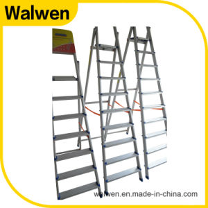 Hotsale Tube Lightweight Folding Agility Aluminum Ladder pictures & photos