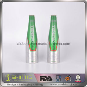 Aluminum Beer Bottle with Crown Cap pictures & photos