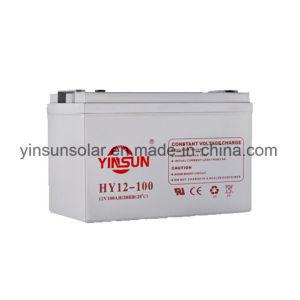 12V100ah Solar Lead-Acid Battery for Solar pictures & photos