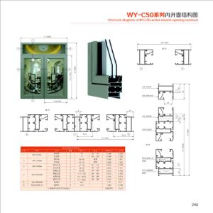 6063 High Quality Aluminium Profile for Sliding Window and Doors pictures & photos