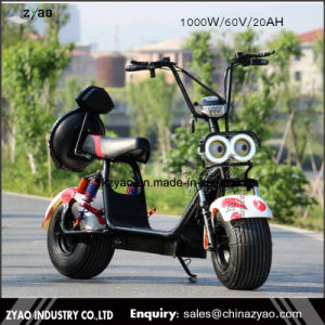 Best Quality 1000W Citycoco 18*9.5 Tyre Electric Scooter Motorcycle Harley Scooter pictures & photos
