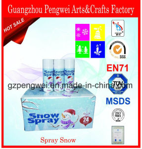 Magic Spray Snow for Window with Different Stencils pictures & photos