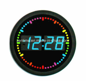 LED Wall Clock in Hot Design pictures & photos