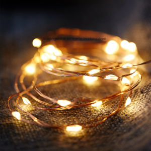 2032 Battery Operated 20 LED String Fairy Light Copper Wire Halloween Xmas pictures & photos
