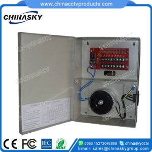 26VAC 3AMP 8 Channel Boxed CCTV Camera Power Supply (26VAC3A8P) pictures & photos