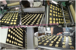 Kh-400 PLC Automatic Cookie Press Machine pictures & photos