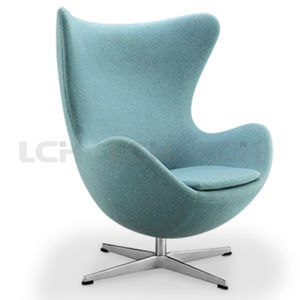 Italian Leisure Leather Egg Shape Chair pictures & photos