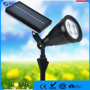 Solar Spot Lighting with 5.5V 130mA Monocrystaline Silicon Panel pictures & photos