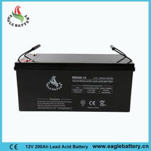 Manufacture VRLA 12V 200ah AGM Lead Acid Inverter Battery