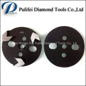 Concrete Terrazzo Stone Floor Surface Arrow Segment Diamond Grinding Disc pictures & photos