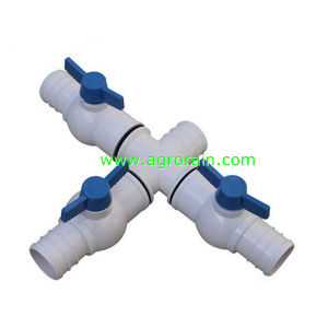 Polyprythylene Straight Coupling for Agriculture Spraying Hose Dia32 Dia45 pictures & photos