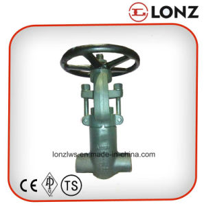 ANSI A105n Socket Weld Pressure Seal Forged Steel Gate Valve pictures & photos